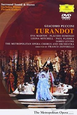 Puccini - Turandot DVD Cover Art