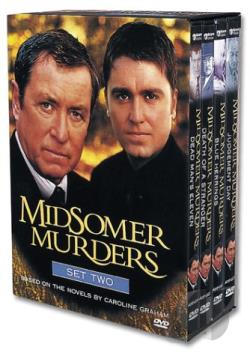 Midsomer Murders - Set 2 DVD Cover Art