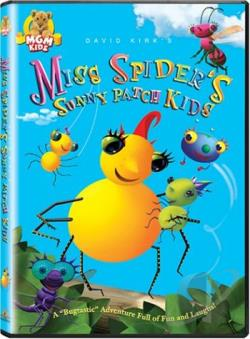 Miss Spider's Sunny Patch Kids DVD Cover Art