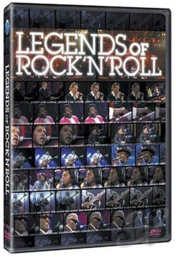 Legends of Rock 'n' Roll Live DVD Cover Art