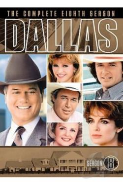 Dallas - The Complete Eighth Season DVD Cover Art
