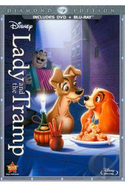 Lady and the Tramp DVD Cover Art