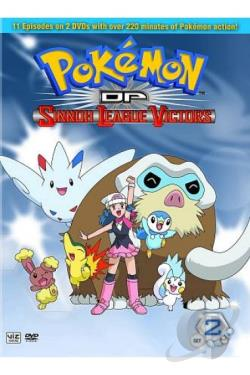 Pokemon DP Sinnoh League Victors: Set 2 DVD Cover Art