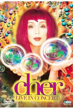 Cher - Live In Concert DVD Cover Art