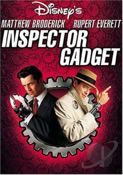 Inspector Gadget DVD Cover Art