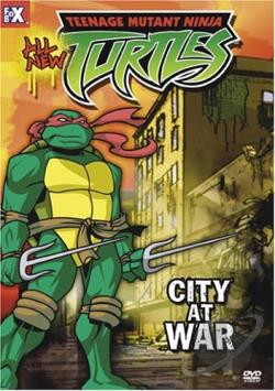 Teenage Mutant Ninja Turtles - Vol. 14: City At War DVD Cover Art