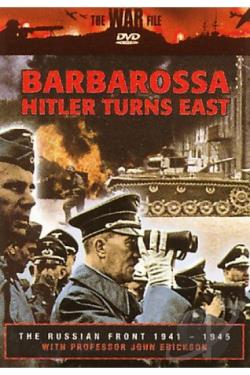 Russian Front 1941-1945 - Barbarossa: Hitler Turns East DVD Cover Art