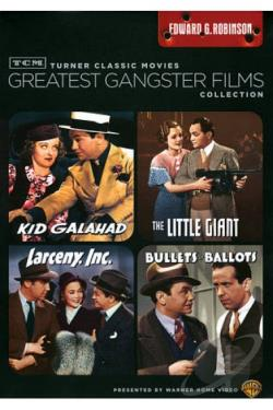 TCM Greatest Gangster Films Collection: Edward G. Robinson DVD Cover Art