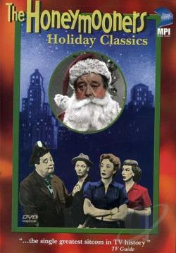 Honeymooners - Holiday Classics DVD Cover Art