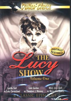 Lucy Show - Vol. 1 DVD Cover Art