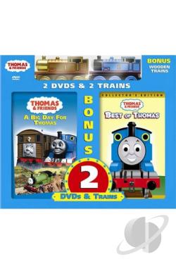 Thomas & Friends - A Big Day For Thomas/Best Of Thomas DVD Cover Art