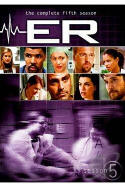 ER - The Complete Fifth Season DVD Cover Art