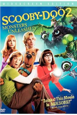 Scooby Doo 2: Monsters Unleashed DVD Cover Art