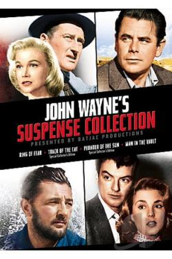 John Wayne's Batjac Productions Presents - The Suspense Collection DVD Cover Art