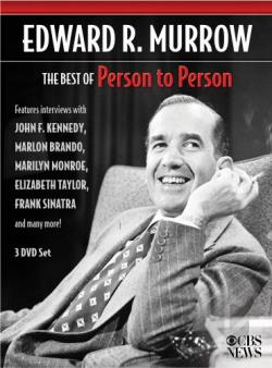 Edward R. Murrow: the Best of Person to Person DVD Cover Art