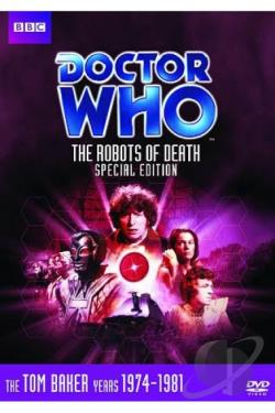 Doctor Who - The Robots of Death DVD Cover Art