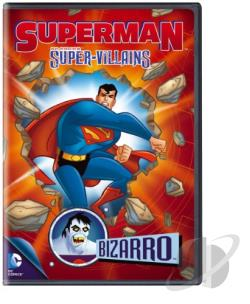 Superman Super-Villains: Bizarro DVD Cover Art