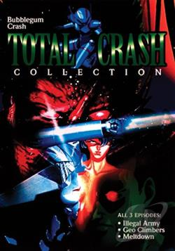 Bubblegum Crash - Total Crash Collection DVD Cover Art