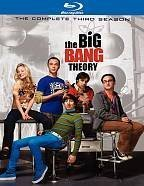 Big Bang Theory - The Complete Third Season BRAY Cover Art