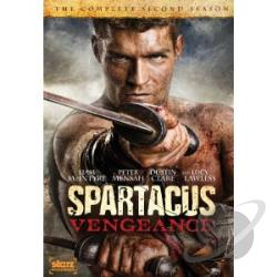 Spartacus: Vengeance DVD Cover Art