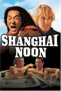 Shanghai Noon DVD Cover Art