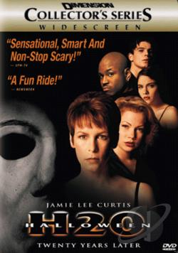 Halloween H2o DVD Cover Art
