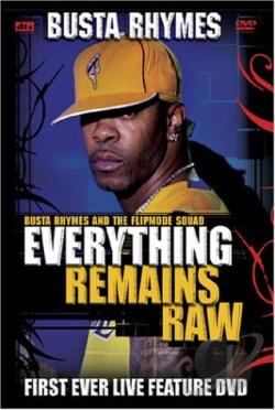 Busta Rhymes - Everything Remains Raw: Live In Concert DVD Cover Art