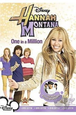 Hannah Montana: One in a Million DVD Cover Art