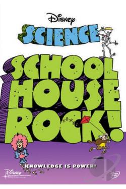 Schoolhouse Rock! - Science Rock DVD Cover Art