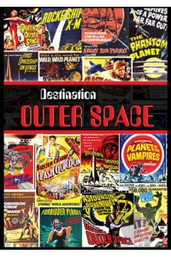 Destination Outer Space DVD Cover Art