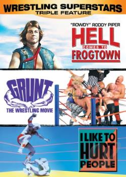 Wrestling Superstars Collection DVD Cover Art