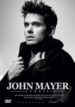 John Mayer: Iconic - Unauthorized DVD Cover Art