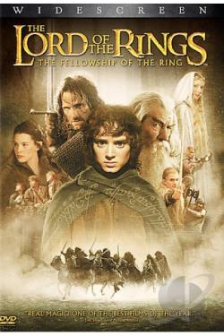 Lord of the Rings: The Fellowship of the Ring DVD Cover Art