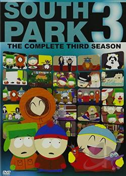South Park - The Complete Third Season DVD Cover Art