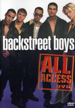Backstreet Boys - All Access Video DVD Cover Art. Large Front