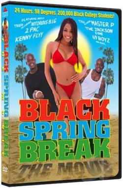 Black Spring Break: The Movie DVD Cover Art