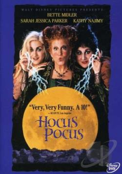 Hocus Pocus DVD Cover Art
