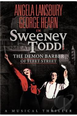Sweeney Todd: The Demon Barber of Fleet Street DVD Cover Art