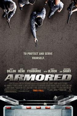 Armored DVD Cover Art