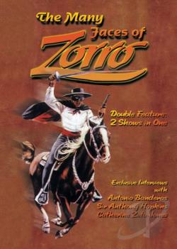 Many Faces of Zorro DVD Cover Art