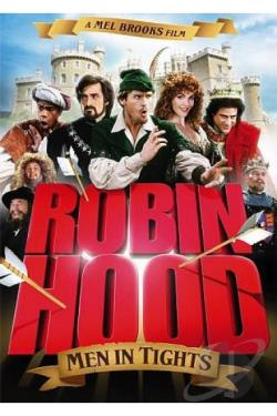 Robin Hood: Men in Tights DVD Cover Art