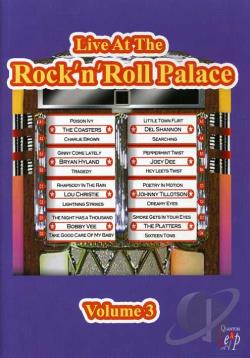 Live At The Rock 'n' Roll Palace - Volume 3 DVD Cover Art