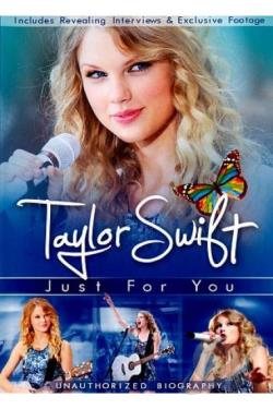 Taylor Swift: Just for You DVD Cover Art