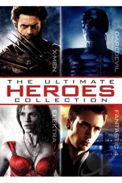 Ultimate Heroes Collection DVD Cover Art