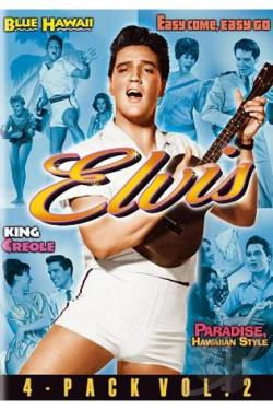 Elvis 4 - Pack, Vol. 2 DVD Cover Art