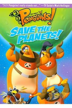 3-2-1 Penguins - Save The Planets DVD Cover Art