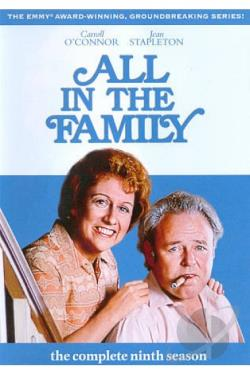 All in the Family - The Complete Ninth Season DVD Cover Art