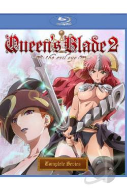 Queen's Blade 2: The Evil Eye BRAY Cover Art