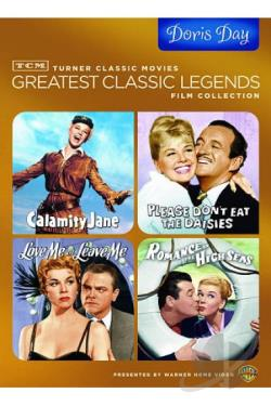 TCM Greatest Classic Legends Collection: Doris Day DVD Cover Art
