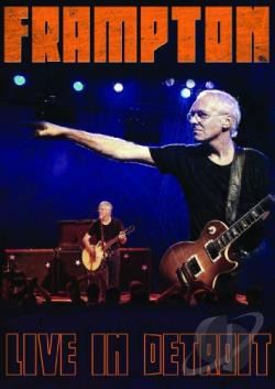 Peter Frampton: Live in Detroit DVD Cover Art